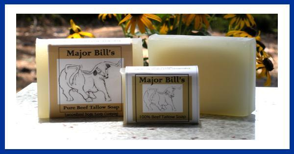 Major Maj Bill's Beef Tallow soap